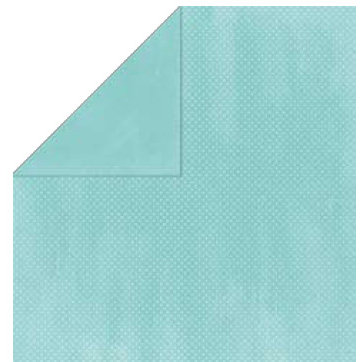 Bo Bunny Press - Double Dot Paper - 12 x 12 Double Sided Paper - Ocean Dot