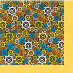 Bo Bunny - On The Go Collection - 12 x 12 Double Sided Paper - Gears