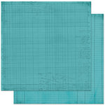 Bo Bunny Press - Double Dot Designs Collection - 12 x 12 Double Sided Paper - Journal - Ocean