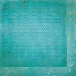 BoBunny - Double Dot Designs Collection - 12 x 12 Double Sided Paper - Vintage - Ocean