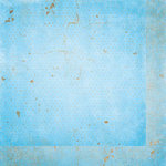 BoBunny - Double Dot Designs Collection - 12 x 12 Double Sided Paper - Vintage - Powder Blue