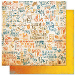 Bo Bunny Press - Paradise Collection - 12 x 12 Double Sided Paper - Paradise Lingo