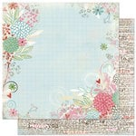 Bo Bunny Press - Persuasion Collection - 12 x 12 Double Sided Paper - Persuasion My Sweet