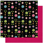 Bo Bunny Press - Petal Pushers Collection - 12 x 12 Double Sided Paper - Petal Pushers Posies