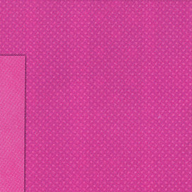 Bo Bunny Press - Double Dot Collection - 12x12 Double Sided Cardstock Paper - Pink Punch , CLEARANCE