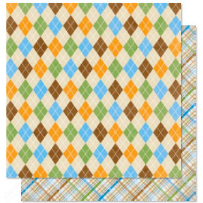 Bo Bunny Press - Pet Shop Collection - 12 x 12 Double Sided Paper - Pet Shop Sweater