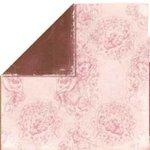 Bo Bunny Press - Bella Journee - Double Sided Paper - Paris Collection - Paris Toile