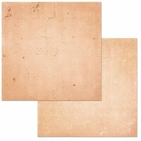BoBunny - Double Dot Designs Collection - 12 x 12 Double Sided Cardstock Paper - Peaches and Cream Vintage