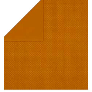Bo Bunny Press - Double Dot Paper - 12 x 12 Double Sided Paper - Rust Dot