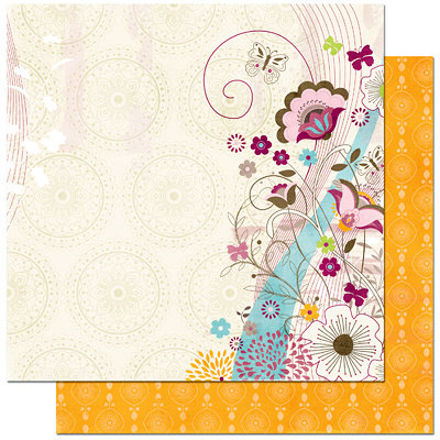 Bo Bunny Press - Sophie Collection - 12 x 12 Double Sided Paper - Sophie