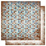 Bo Bunny Press - Snowfall Collection - 12 x 12 Double Sided Paper - Dot