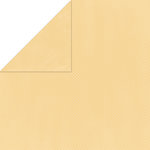 Bo Bunny Press - Double Dot Paper - 12 x 12 Double Sided Paper - Sunflower Dot