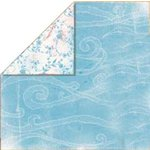 Bo Bunny Press - Bella Journee - Double Sided Paper - Santorini Collection - Santorini Mediterrane, CLEARANCE