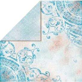 Bo Bunny Press - Bella Journee - Double Sided Paper - Santorini Collection - Santorini Ornament