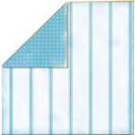 Bo Bunny Press - Bella Journee - Double Sided Paper - Santorini Collection - Santorini Stripe