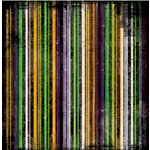 Bo Bunny Press - Spooktastic Collection - 12 x 12 Paper - Spooktastic Stripe