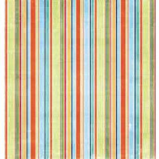 Bo Bunny Press - Shabby Princess - Star Struck Collection - 12x12 Paper - Star Struck Stripe- Baby - Boy