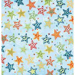 Bo Bunny Press - Shabby Princess - Star Struck Collection - 12x12 Paper - Star Struck Dust- Baby - Boy