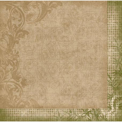Bo Bunny - Serenity Collection - 12 x 12 Double Sided Paper - Love