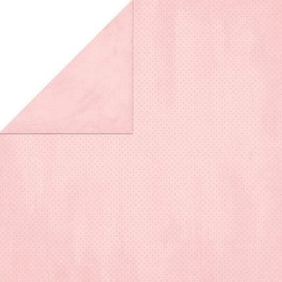 Bo Bunny Press - Double Dot Paper - 12 x 12 Double Sided Paper - Tutu Dot, CLEARANCE