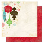 Bo Bunny Press - Tis The Season Collection - Christmas - 12 x 12 Double Sided Paper - Tis The Season