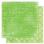 Bo Bunny Press - Tis The Season Collection - Christmas - 12 x 12 Double Sided Paper - Tis The Season Carol, CLEARANCE