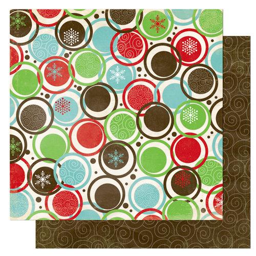 Bo Bunny Press - Tis The Season Collection - Christmas - 12 x 12 Double Sided Paper - Tis The Season Fa La La, CLEARANCE