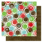 Bo Bunny Press - Tis The Season Collection - Christmas - 12 x 12 Double Sided Paper - Tis The Season Fa La La, CLEARANCE