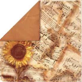 Bo Bunny Press - Bella Journee - Double Sided Paper - Tuscany Collection - Tuscany Symphony