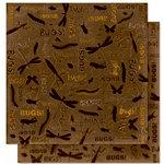 Bo Bunny Press - U Bug Me Collection - 12 x 12 Double Sided Paper - U Bug Me, CLEARANCE