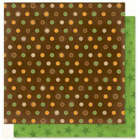 Bo Bunny Press - U Bug Me Collection - 12 x 12 Double Sided Paper - U Bug Me Dot