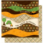 Bo Bunny Press - U Bug Me Collection - 12 x 12 Double Sided Paper - U Bug Me Outdoors, CLEARANCE