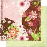 Bo Bunny Press - Vicki B Collection - 12 x 12 Double Sided Paper - Vicki B