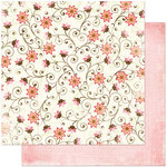 Bo Bunny Press - Vicki B Collection - 12 x 12 Double Sided Paper - Perky