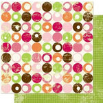 Bo Bunny Press - Vicki B Collection - 12 x 12 Double Sided Paper - Bubbly