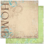 Bo Bunny - Welcome Home Collection - 12 x 12 Double Sided Paper - Welcome Home