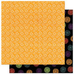 Bo Bunny Press - Whoo-ligans Collection - Halloween - 12 x 12 Double Sided Paper - Whoo-ligans Boo