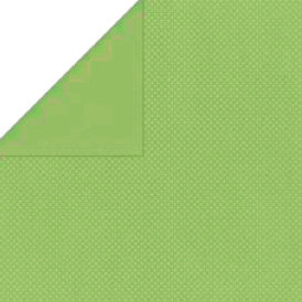 Bo Bunny Press - Double Dot Paper - 12 x 12 Double Sided Paper - Wasabi Dot