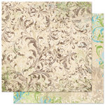 Bo Bunny - Welcome Home Collection - 12 x 12 Double Sided Paper - Flourish