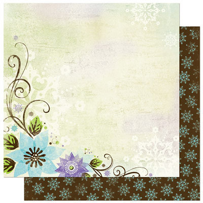 Bo Bunny Press - Winter Joy Collection - Christmas - 12 x 12 Double Sided Paper - Winter Joy