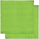 Bo Bunny Press - Double Dot Designs Collection - 12 x 12 Double Sided Paper - Journal - Wasabi