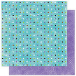 Bo Bunny Press - Winter Joy Collection - Christmas - 12 x 12 Double Sided Paper - Winter Joy Dot