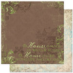 Bo Bunny - Welcome Home Collection - 12 x 12 Double Sided Paper - Dreams