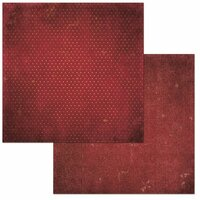 BoBunny - Double Dot Designs Collection - 12 x 12 Double Sided Cardstock Paper - Wine Vintage