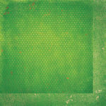 BoBunny - Double Dot Designs Collection - 12 x 12 Double Sided Paper - Vintage - Wasabi