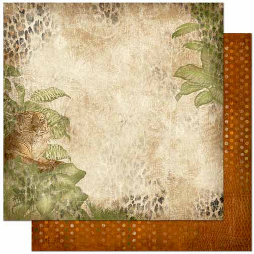 Bo Bunny - Zoology Collection - 12 x 12 Double Sided Paper - Zoology