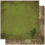 Bo Bunny - Zoology Collection - 12 x 12 Double Sided Paper - Wild Thing