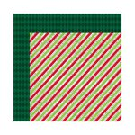 Bo Bunny Press - Mistletoe Collection - Christmas - 12 x 12 Double Sided Paper - Twas The Night