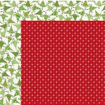 Bo Bunny - Mistletoe Collection - Christmas - 12 x 12 Double Sided Paper - Wrap