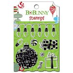 Bo Bunny - Mistletoe Collection - Christmas - Clear Acrylic Stamps